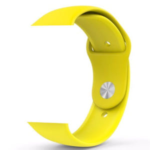 NEW YELLOW Sport Silicone Band Apple Watch
